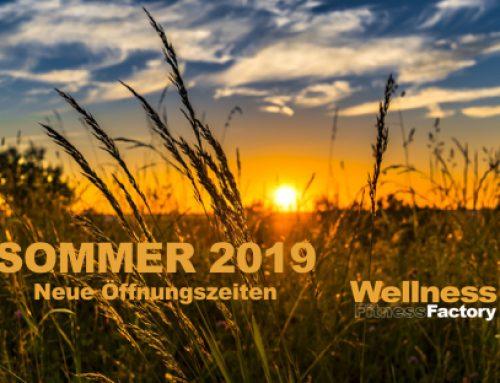 Summertime in der Factory – Unsere Sommeröffnungszeiten 2019