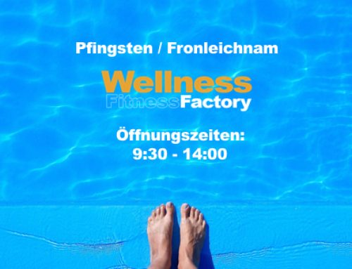 Pfingsten/Fronleichnam in der Factory