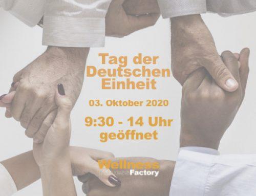 Tag der Einheit in der Factory –  Öffnungszeiten 9:30 – 14 Uhr